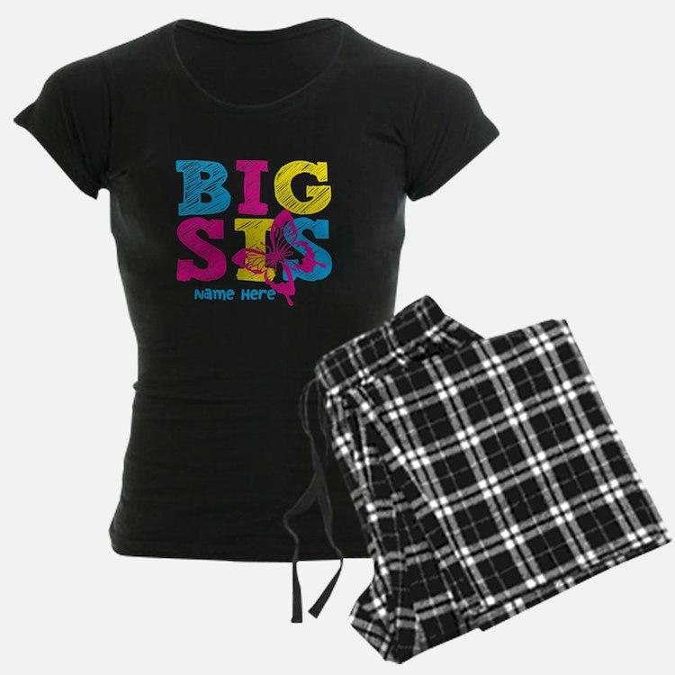 Butterfly Big Sis pajamas