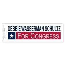 Elect Debbie Wasserman Schultz Bumper Sticker