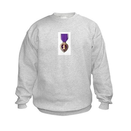 Purple Heart Kids Sweatshirt