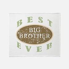 Best Big Brother Ever (Vintage) Throw Blanket