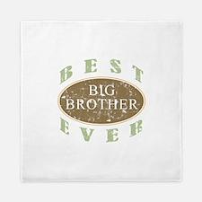 Best Big Brother Ever (Vintage) Queen Duvet