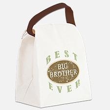 Best Big Brother Ever (Vintage) Canvas Lunch Bag