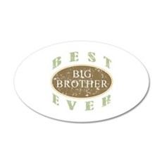 Best Big Brother Ever (Vintage) Wall Decal