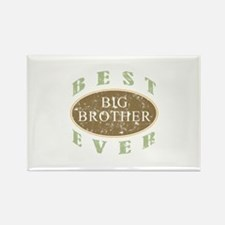 Best Big Brother Ever (Vintage) Rectangle Magnet