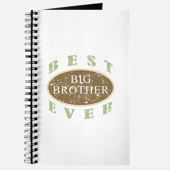 Best Big Brother Ever (Vintage) Journal