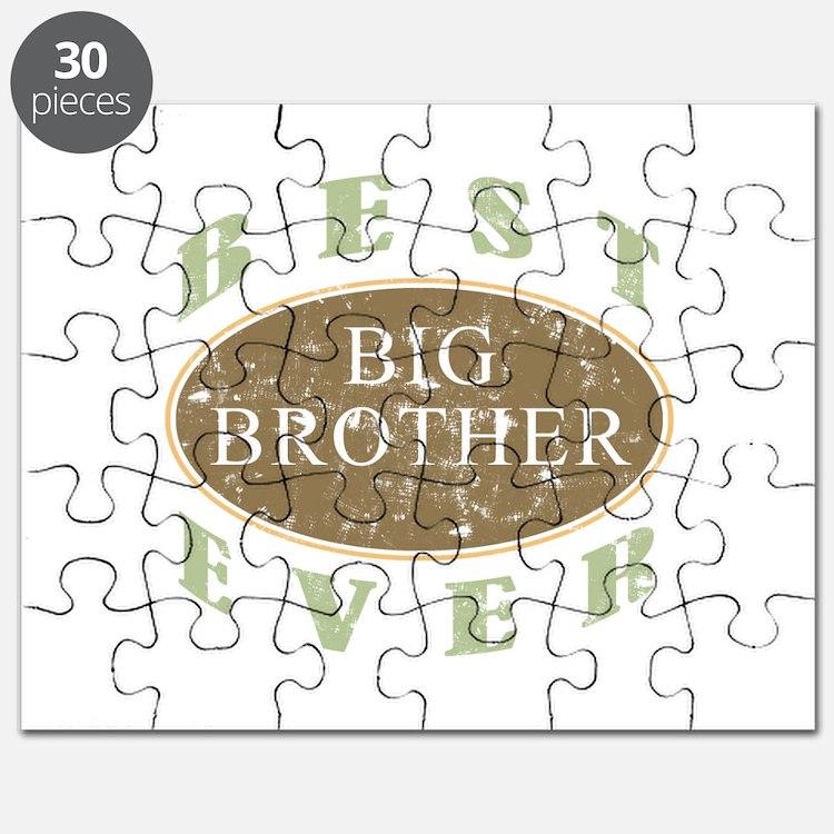 Best Big Brother Ever (Vintage) Puzzle