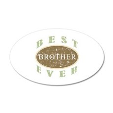 Best Brother Ever (Vintage) Wall Decal