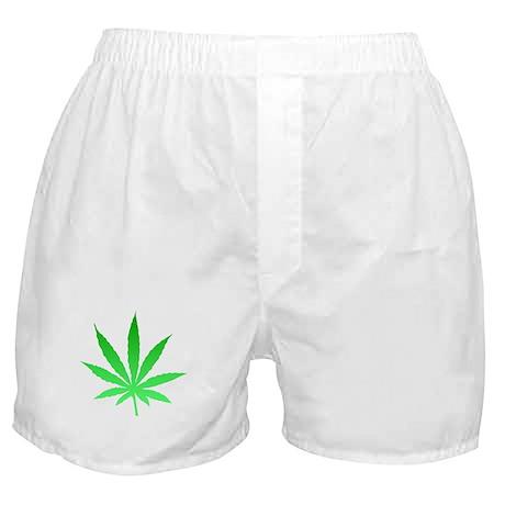Green leaf Boxer Shorts
