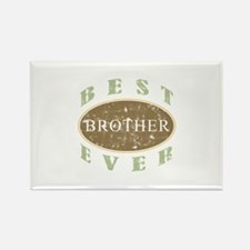 Best Brother Ever (Vintage) Rectangle Magnet