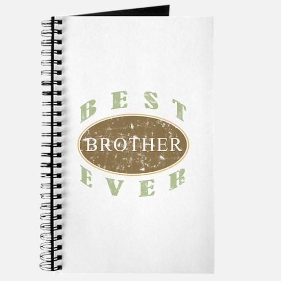 Best Brother Ever (Vintage) Journal