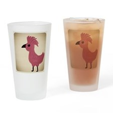 Cockatoo Drinking Glass