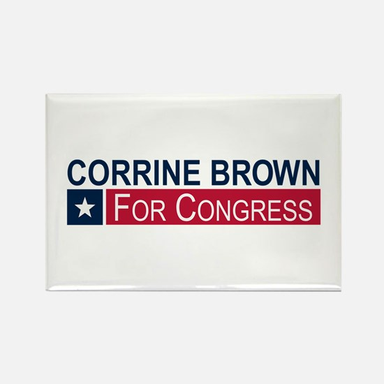 Elect Corrine Brown Rectangle Magnet
