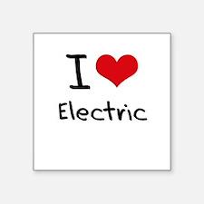 I love Electric Sticker
