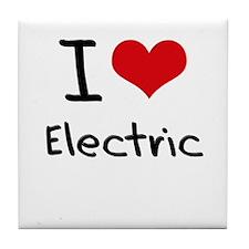 I love Electric Tile Coaster