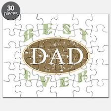 Best Dad Ever (Vintage) Puzzle