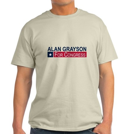 Elect Alan Grayson Light T-Shirt