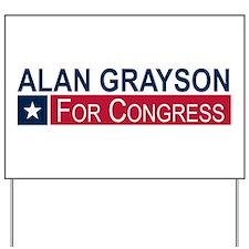 Elect Alan Grayson Yard Sign
