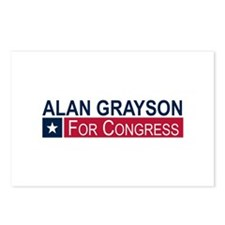 Elect Alan Grayson Postcards (Package of 8)