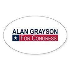 Elect Alan Grayson Decal
