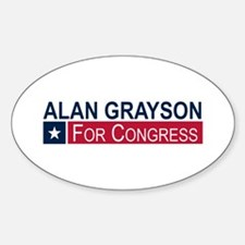 Elect Alan Grayson Decal