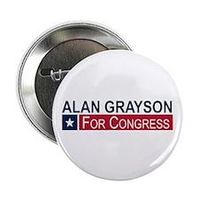 "Elect Alan Grayson 2.25"" Button (10 pack)"