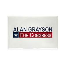 Elect Alan Grayson Rectangle Magnet