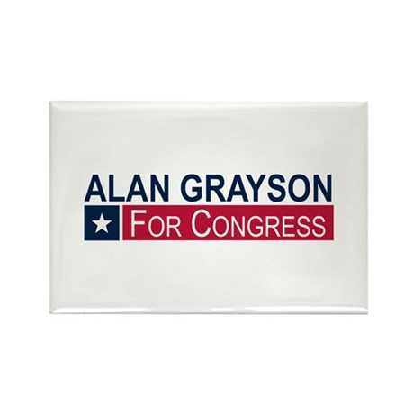 Elect Alan Grayson Rectangle Magnet