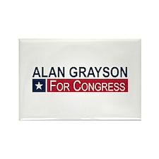 Elect Alan Grayson Rectangle Magnet (10 pack)