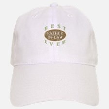 Best Father-In-Law Ever (Vintage) Baseball Baseball Cap