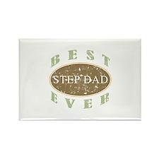 Best Step Dad (Vintage) Rectangle Magnet