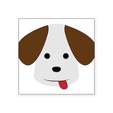 A Beagle Illustration for Dog Lovers Sticker