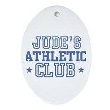 Jude Oval Ornament