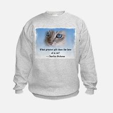 Dickens Cat Sweatshirt