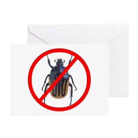 No Bugs - Greeting Cards (Pk of 10)
