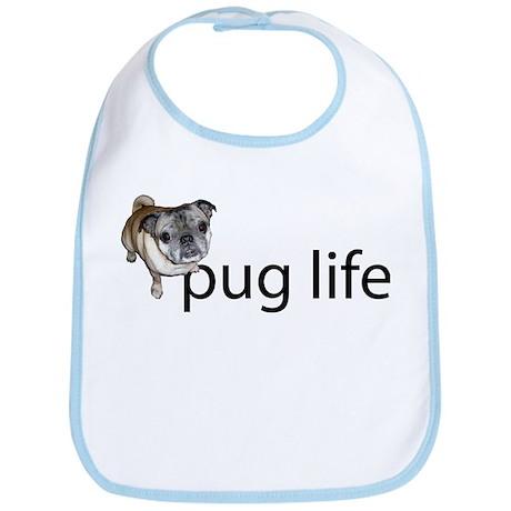 Pug Life Simple Bib
