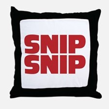 Spay and Neuter Your Pets Throw Pillow