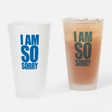 I am so sorry. Big apology. Drinking Glass