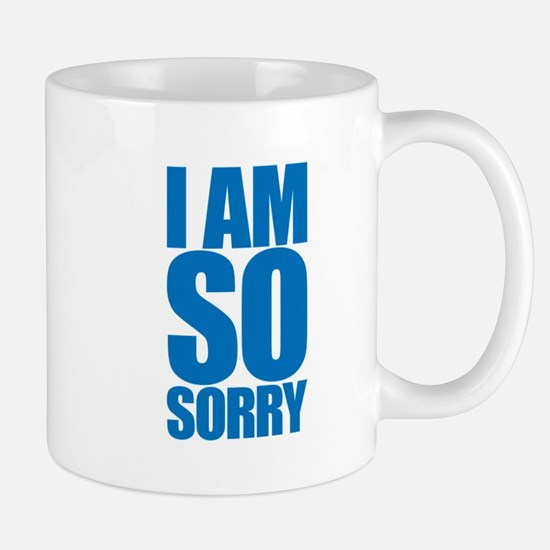 I am so sorry. Big apology. Mug