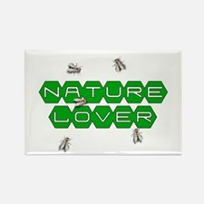 Nature Lover-Bees Rectangle Magnet