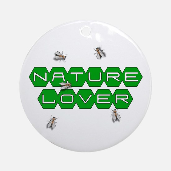 Nature Lover-Bees Ornament (Round)