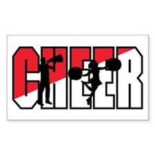 Cheer Rectangle Decal