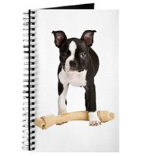 Boston Terrier Standing Guard Journal