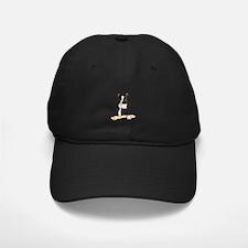 Boston Terrier Standing Guard Baseball Hat