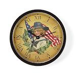 Vintage Patriotic Clock