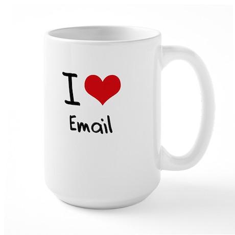 I love Email Mug