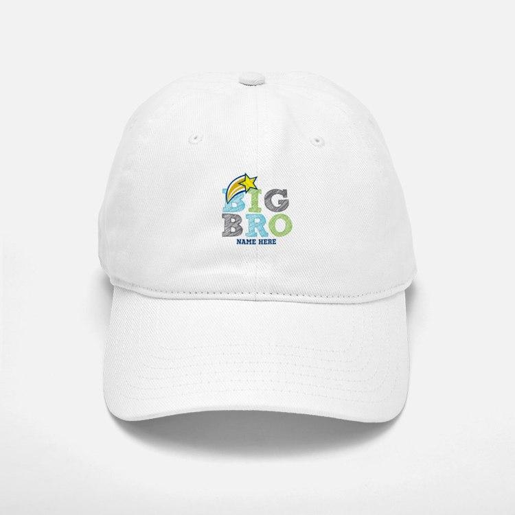 Star Big Bro Baseball Baseball Cap