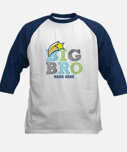 Star Big Bro Kids Baseball Jersey