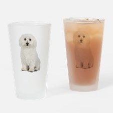 The Perfect Bichon Frise Drinking Glass