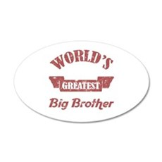 World's Greatest Big Brother Wall Decal