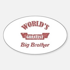 World's Greatest Big Brother Decal